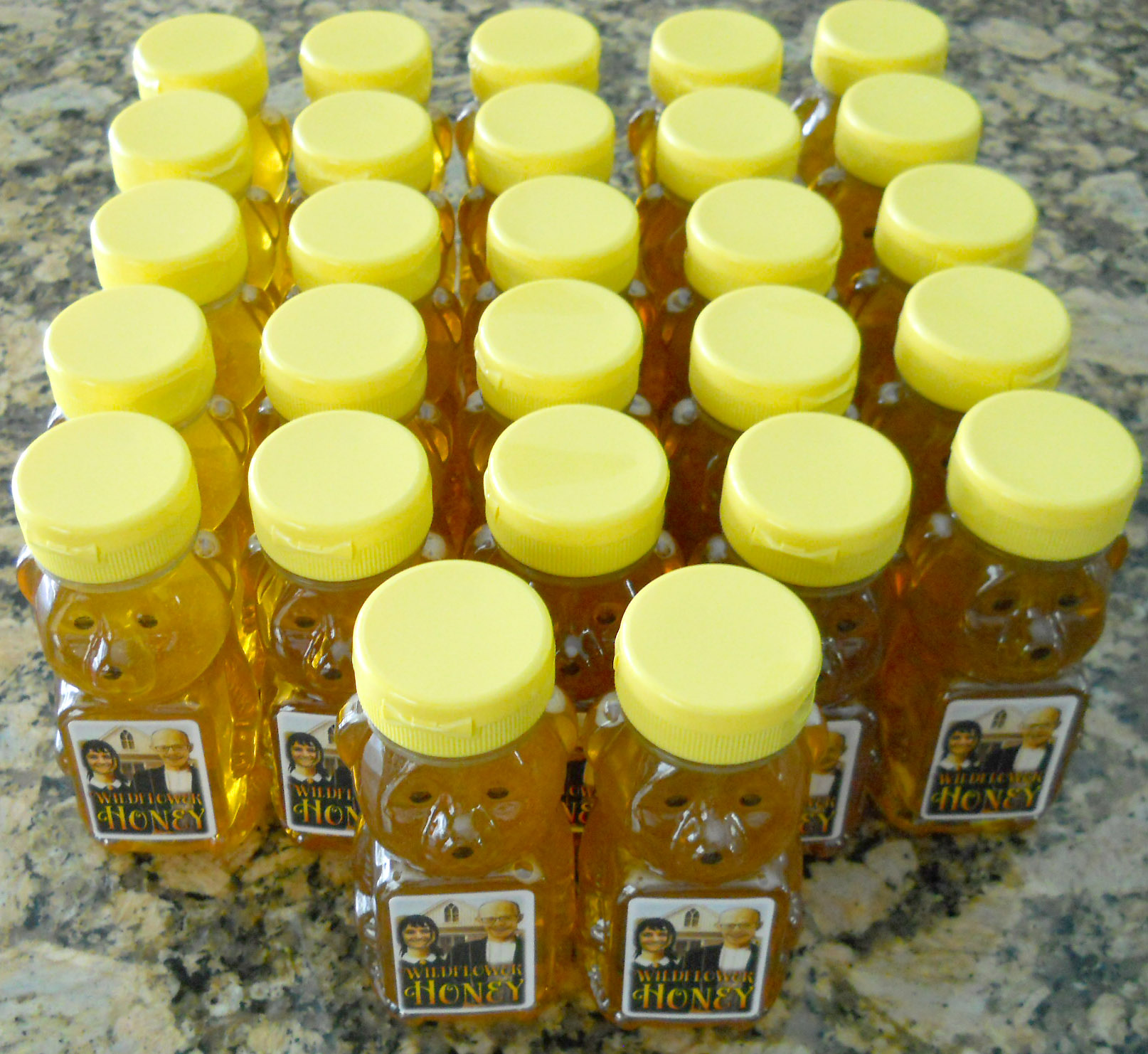 May 28, 2015 honey harvest